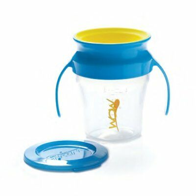 Wow Baby 360 Training Cup, 7 Ounce, Blue