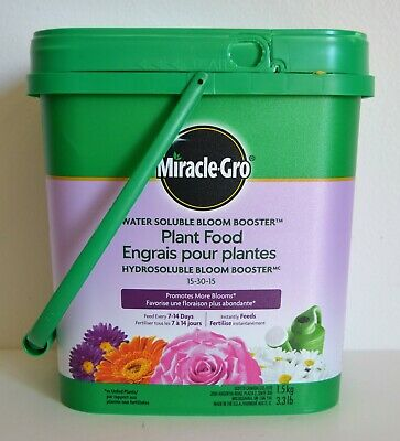 Miracle Gro Ultra Bloom Water Soluble Plant Food Fertilizer 15-30-15 New 1.71kg