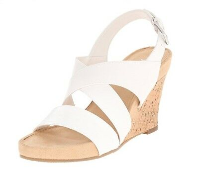 b22554a712 WOMEN'S A2 BY Aerosoles Wedge Sandals - True Plush - White - New ...