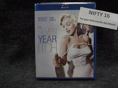 The Seven Year Itch (Blu-ray Disc, 2012, Brand New)