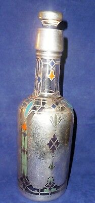 Sterling Inlay Antique Trophy Bottle - New York Athletic Club