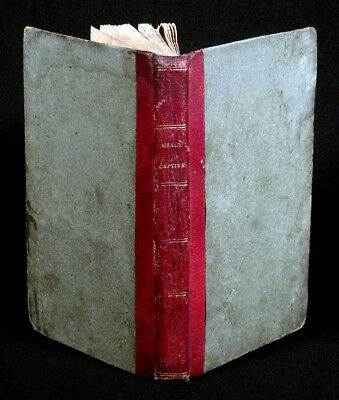 1822 Rare LITTLE OSAGE CAPTIVE Native American Captivity Narrative Indians Book