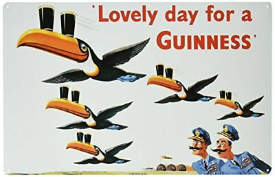 Lovely Day for a Guinness Metal Beer Sign New