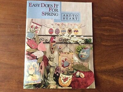 "QUILTING BOOK ""EASY DOES IT FOR SPRING"" by NANCY HALVORSEN"