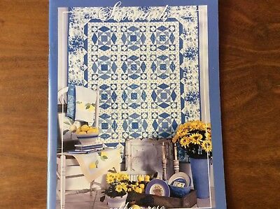 """QUILTING BOOK """"SAVANNAH"""" by CABBAGE ROSE"""