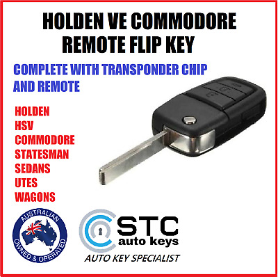 HOLDEN COMMODORE VE HSV OMEGA SSV SV6 Complete Key 2006-2013