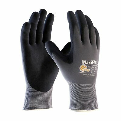 Pip 34-874 Maxiflex Ultimate Nitrile Micro-Foam Coated Gloves Large 1 Pair Glove
