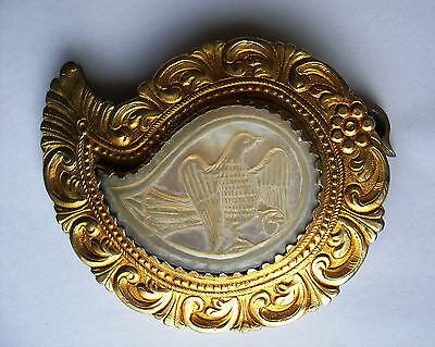 Antique Massive Handmade Part of a Belt Buckle. Early 19th century. Ottoman Empi