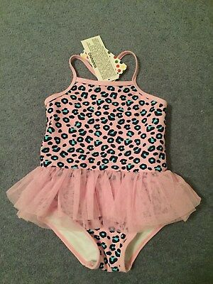 baby girls swimmers togs size 1 NEW swimwear girls one piece