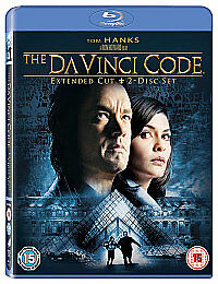 The Da Vinci Code (Blu-ray, 2011, Extended Cut) NEW & SEALED, FAST UK DISPATCH!