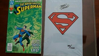The adventures of Superman.The man of steel fights for his life. Collectors set.