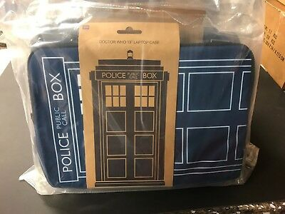 6 x Dr Who Laptop Cases Bulk Stock / Job Lot Brand New Ideal Market Stock