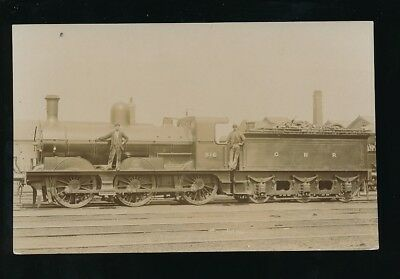 Railway GNR Great Northern Engine No 315 pre1919 RP PPC  published by E Pouteau