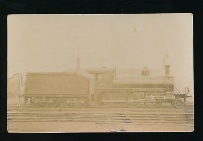 Railway GNR loco #1187 at Manchester Trafford Park c1900/10s? RP PPC
