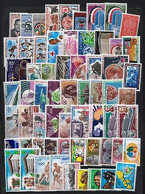 Upper Volta - 1960s & 1970s Mint hinged selection of stamps  - (29)