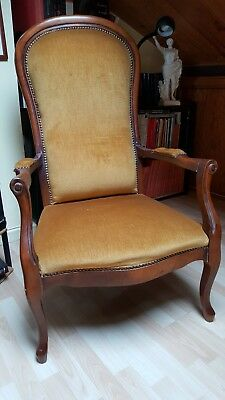 Fauteuil  Voltaire  Bovary