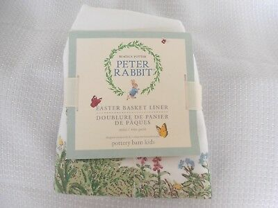 Pottery Barn Kids Peter Rabbit™ Mini Basket Liner NWT
