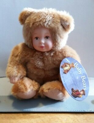Baby Bear / Anne Geddes Tan Color...Tags Attached
