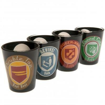 Call Of Duty 4pk Premium Shot Glass Set (football club souvenirs memorabilia)