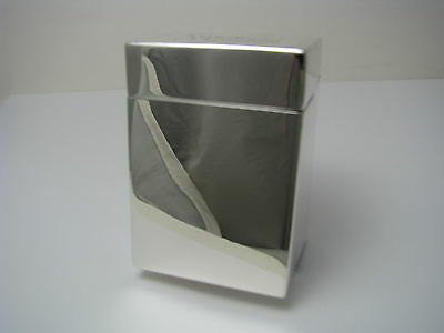 STERLING SILVER CIGARETTE CASE COLLAPSIBLE BOX by Black Starr Frost ca1900s Rare