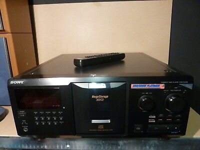 sony cdp cx355 300 disc cd changer player original remote rh picclick co uk Sony 500 Disc Changer Sony CDP CX355 Sound Quality