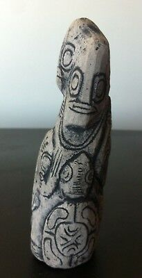 fertility goddess,idol Mother earth stone figurine,pachamama,Quechua,ancient