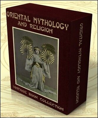 ORIENTAL MYTHOLOGY & RELIGION 153 Vintage Books on DVD Japan China, Fairy Tales