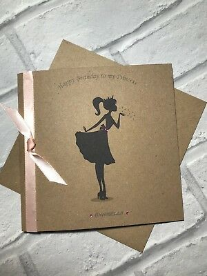 To My Princess Birthday Card for Girlfriend/ Daughter/ Wife Personalised