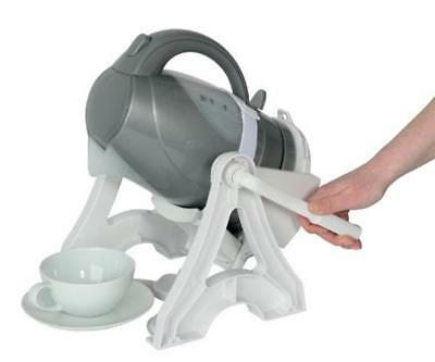 Universal Heat Resistant Plastic Easy Lift Kettle Tipper Reduce Wrist Strain NEW
