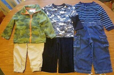 Baby Boy Size 24M Winter Clothes 6 Pc. Lot #e80