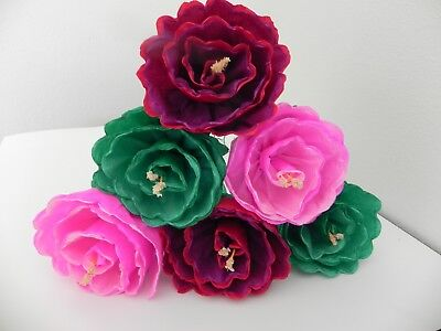 Mexican paper flowers set of 6 multicolor we make special orders mexican paper flowers set of 6 multicolor we make special orders mightylinksfo