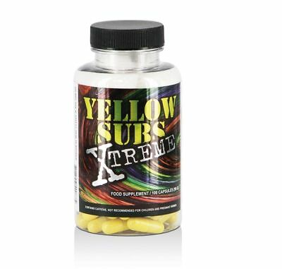 100 x Yellow Subs Xtreme Power & Energy Fettverbrennung D&E USA