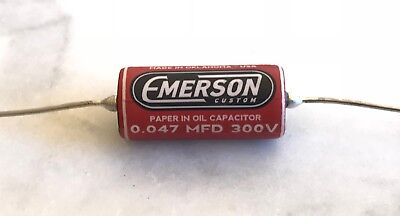 Emerson Paper In Oil Tone Capacitors .047