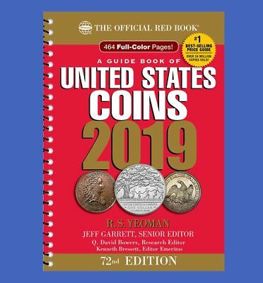 2019 Official Red Book of United States Coins - Spiral Bind In Stock & Shipping
