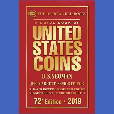 2019 Official Red Book of United States Coins - Hardcover