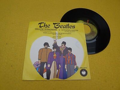 "The Beatles ‎– Yellow Submarine EPEM 10505 (VG++/EX) Mexico press ToP CoPy 7"" ç"