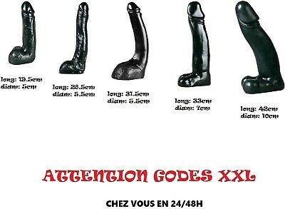 Sextoy Gamme Gros Gode Realiste All Black Taille Xxl Fortes Penetrations Inities