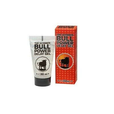 Gel Retardante Eyaculacion The Ultimate Bull Power + Env Discreto + Regalo √Envi