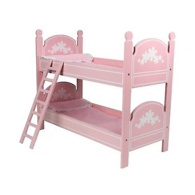 Handmade Bunk Bed For 18 Inch Doll 75 00 Picclick