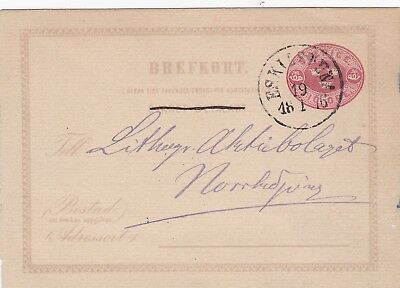 1916: Sweden: post card P5L1, only question part known