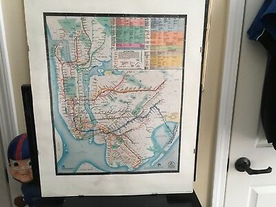 1980 Diamonds Jubilee Subway Map.1979 Mta Nyc Subway Map Diamond Jubilee Reprinted From The Collection Of Nyc Tra