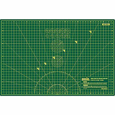 5 Ply Double Sided PVC A3 Friendly Self Healing Durable Cutting Mat 12in X 18in