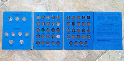 COMPLETE (58) 1857-1909 S FLYING EAGLE & INDIAN HEAD Cents Whitman Book