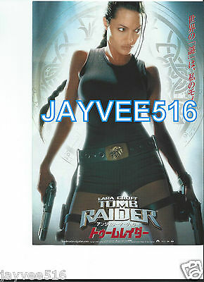 Tomb Raider Lara Croft Original Color Still Photo Mini-Poster Angelina Jolie