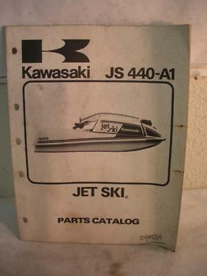 Original Japan Kawasaki  Jet Ski Parts Catalog # Js440-A1