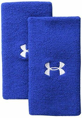 """Under Armour Accessories 6"""" Performance Wristband One- Pick SZ/Color."""