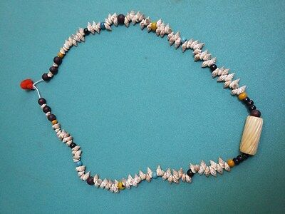 Rare Old Antique Collectible Ethnic Jewellery Tribal Indian Amulets Necklace #78