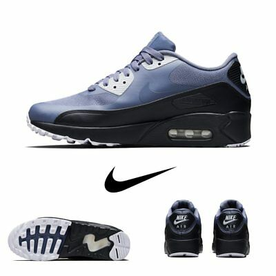 Details about Nike Air Max 90 Ultra Essential Running Sneakers Black 875695 002 Sz 4 13