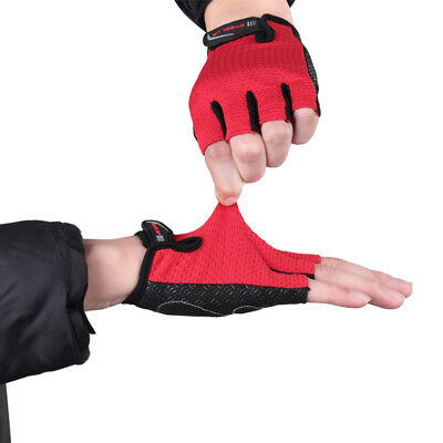Breathable Half Finger Racing Motorcycle Gloves Cycling Bicycle MTB Riding Glove