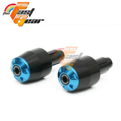 Storm Blue Bar Ends Sliders Fit Ducati MONSTER 600 750 1000 900 800 S2 S4 ie